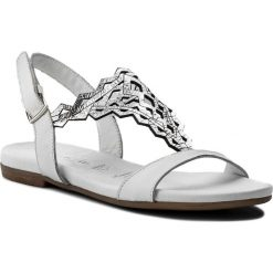 Sandały damskie: Sandały TAMARIS – 1-28126-20 White/Silver 191