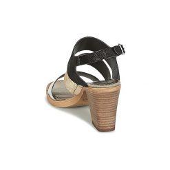 Sandały Metamorf'Ose  CAJARC. Czarne sandały damskie Metamorf'Ose. Za 295,20 zł.