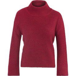 Sweter damski. Czerwone swetry oversize damskie Ochnik, z dzianiny. Za 159,90 zł.