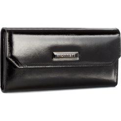 Duży Portfel Damski MONNARI - PUR1080-020 Black. Czarne portfele damskie marki Monnari, ze skóry. W wyprzedaży za 129,00 zł.