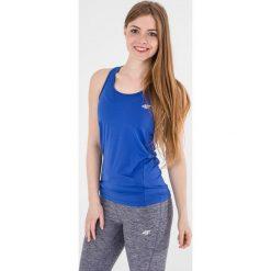4f Koszulka damska H4L17-TSDF001 chabrowa r. M (H4L17-TSDF001). Niebieskie topy sportowe damskie marki 4f, l. Za 34,00 zł.