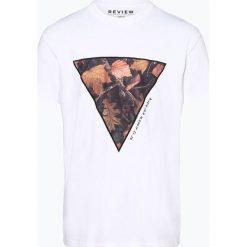 Review - T-shirt męski, czarny. Czarne t-shirty męskie z nadrukiem Review, m. Za 79,95 zł.