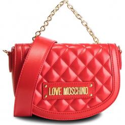 Torebka LOVE MOSCHINO - JC4002PP17LA0500 Rosso. Czerwone torebki klasyczne damskie Love Moschino, ze skóry ekologicznej. Za 779,00 zł.