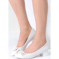 Buty ślubne damskie: Białe Czółenka Love Eclipse