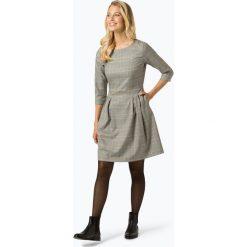 Marie Lund - Sukienka damska, czarny. Czarne sukienki hiszpanki Marie Lund, w kratkę, rozkloszowane. Za 399,95 zł.