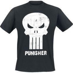 T-shirty męskie: The Punisher Skull T-Shirt czarny