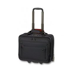 Walizka Kybele czarna (LWT.1011.01). Czarne walizki marki David Jones. Za 796,00 zł.