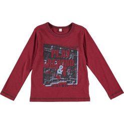T-shirty chłopięce: Koszulka w kolorze bordowym
