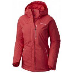 Columbia Lost Peak Jacket Red Camellia M. Czerwone kurtki damskie narciarskie Columbia, m, omni-heat (columbia). W wyprzedaży za 699,00 zł.