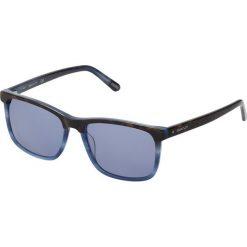 GANT GA7105 Okulary przeciwsłoneczne havana/other/blue. Niebieskie okulary przeciwsłoneczne męskie wayfarery GANT. Za 529,00 zł.