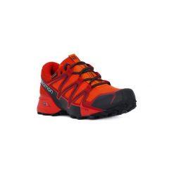 Buty do biegania Salomon  SPEEDCROSS VARIO GTX. Szare buty do biegania męskie marki Salomon, z gore-texu, na sznurówki, gore-tex. Za 527,77 zł.