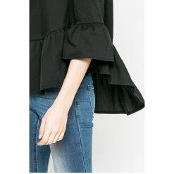Answear - Bluzka Blossom Mood. Szare bluzki nietoperze ANSWEAR, l, z bawełny, casualowe, z okrągłym kołnierzem. W wyprzedaży za 59,90 zł.