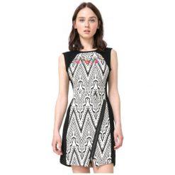 Desigual Sukienka Damska Oregon 38 Czarny. Czarne sukienki marki Desigual. W wyprzedaży za 259,00 zł.