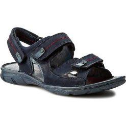 Sandały KRISBUT - 1099-2-1 Granat. Niebieskie sandały męskie skórzane Krisbut. W wyprzedaży za 169,00 zł.