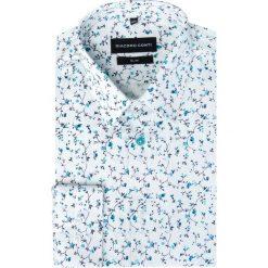 Koszula SIMONE KDWS000188. Białe koszule męskie jeansowe marki Giacomo Conti, m, z klasycznym kołnierzykiem. Za 199,00 zł.