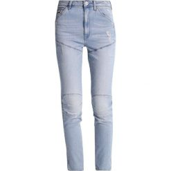 GStar 5620 EVA SHAW ULTRA HIGH SKINNY  Jeansy Slim Fit wardour stretch denim. Niebieskie jeansy damskie relaxed fit marki G-Star. Za 729,00 zł.