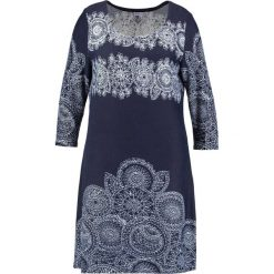 Sukienki dzianinowe: Anna Field Curvy Sukienka dzianinowa  white/dark blue