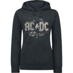 Bluzy rozpinane damskie: AC/DC Rock Or Bust Bluza z kapturem damska czarny