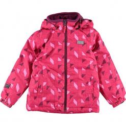 Kurtka narciarska w kolorze różowym. Czerwone kurtki dziewczęce przeciwdeszczowe marki Reserved, z kapturem. W wyprzedaży za 215,95 zł.