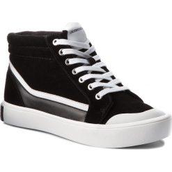Trampki CALVIN KLEIN JEANS - Dione S1765 Black/White/Black. Czarne tenisówki męskie Calvin Klein Jeans, z gumy. Za 619,00 zł.