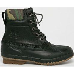 Sorel - Buty Cheyanne II Premium. Czarne buty trekkingowe męskie Sorel, z gumy, na sznurówki, outdoorowe. Za 659,90 zł.