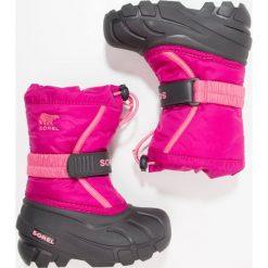 Buty zimowe damskie: Sorel FLURRY Śniegowce pink