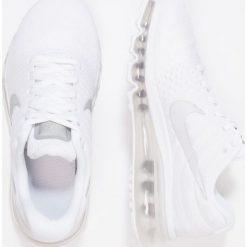 Nike Performance AIR MAX 2017 BG Obuwie do biegania treningowe white/metallic silver. Białe buty do biegania damskie Nike Performance, z materiału. W wyprzedaży za 487,20 zł.