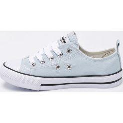 American Club - Tenisówki dziecięce. Szare buty sportowe dziewczęce marki American CLUB, z gumy, na sznurówki. W wyprzedaży za 34,90 zł.