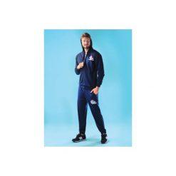 Spodnie męskie dresowe z kieszeniami, ze ściągaczami. Szare spodnie dresowe męskie marki TXM, m. Za 19,99 zł.
