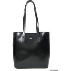Shopper bag damskie: Shopper Pionowy Rigide Blackissimo