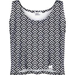 Colour Pleasure Koszulka damska CP-035 169 czarno-biała r. XL-XXL. Białe bluzki damskie marki Colour pleasure, xl. Za 64,14 zł.
