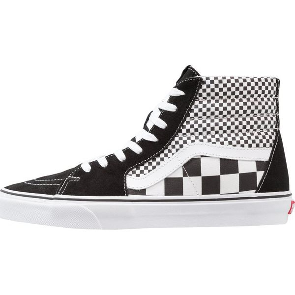 fd781c0b84681 Vans SK8 Tenisówki i Trampki wysokie black/true white - Czarne ...