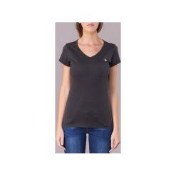 T-shirty z krótkim rękawem G-Star Raw  EYBEN SLIM V T WMN S/S. Czerwone t-shirty damskie marki G-Star RAW, l, z bawełny. Za 89,00 zł.