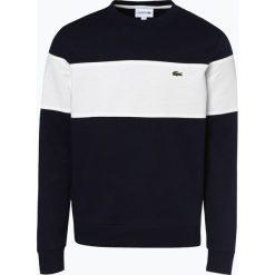 Lacoste - Męska bluza nierozpinana, niebieski. Szare bluzy męskie rozpinane marki Lacoste, z bawełny. Za 529,95 zł.