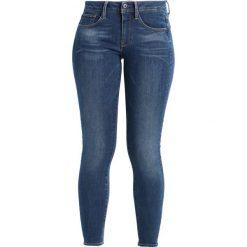 GStar 3301 DMID SKINNY ANKLE Jeans Skinny Fit maure superstretch medium aged. Niebieskie jeansy damskie marki G-Star. W wyprzedaży za 351,75 zł.
