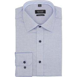 Koszula bexley 2679 długi rękaw custom fit granatowy. Niebieskie koszule męskie Recman, m, z długim rękawem. Za 139,00 zł.