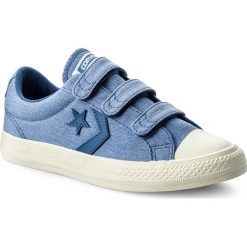 Trampki chłopięce: Trampki CONVERSE - Star Player Ev 3V Ox 660032C Nightfall Blue/Nightfall Blue
