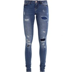 Noisy May Tall NMEVE Jeans Skinny Fit medium blue denim. Niebieskie rurki damskie Noisy May Tall. W wyprzedaży za 242,10 zł.