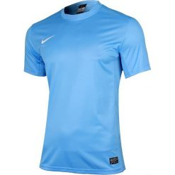Nike Koszulka męska Park V niebieska r. S (448209 412). Białe koszulki sportowe męskie marki Adidas, l, z jersey, do piłki nożnej. Za 62,89 zł.