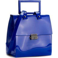 Torebka MELISSA - Pupila + Vitorino Camp 34112  01365 Blue. Niebieskie kuferki damskie marki Melissa. W wyprzedaży za 449,00 zł.
