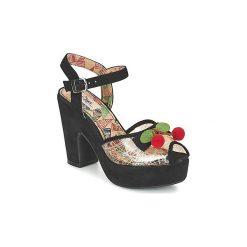 Sandały Miss L'Fire  CALYPSO. Czarne sandały damskie Miss L'Fire. Za 461,30 zł.