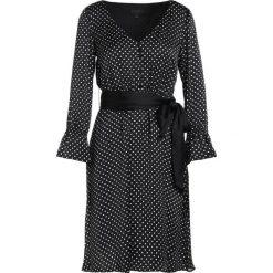 J.CREW YAP DRESS ENDLESS DOT  Sukienka koktajlowa black/ivory. Czarne sukienki koktajlowe marki J.CREW, z materiału. W wyprzedaży za 371,60 zł.
