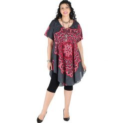 Odzież damska: Sukienka w kolorze szaro-różowym
