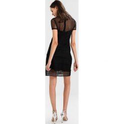 Morgan Sukienka koktajlowa noir. Czarne sukienki koktajlowe marki Morgan, z materiału. Za 369,00 zł.