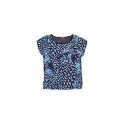 Bluzka damska klasyczna we wzory. Szare bluzki asymetryczne TXM, klasyczne, z klasycznym kołnierzykiem. Za 11,99 zł.
