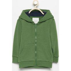 Bluza z kapturem - Zielony. Zielone bluzy niemowlęce marki Reserved, z kapturem. Za 24,99 zł.