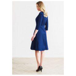 Sukienki: Sukienka Asteria granatowa 32
