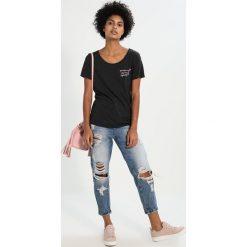 T-shirty damskie: Juvia LOVE AND SUPER STAR Tshirt z nadrukiem anthracite melange