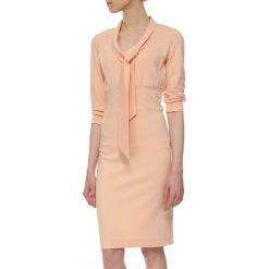 Sukienki hiszpanki: Sukienka w kolorze łososiowym