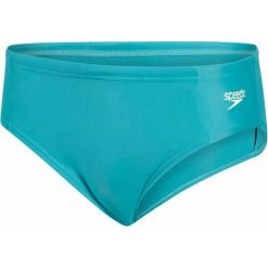 Speedo Kąpielówki Essential Logo 6.5cm Brief Junior Jade/Lemon Sorbet 24. Zielone kąpielówki chłopięce Speedo, długie. W wyprzedaży za 49,00 zł.